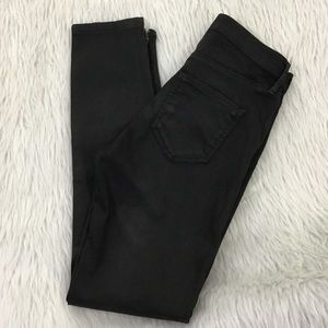 Topshop motto black skinny jeans size 26x30